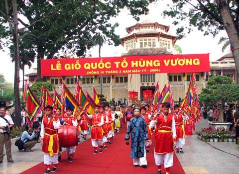 Ngày Giỗ tổ Hùng Vương mồng 10 tháng 3
