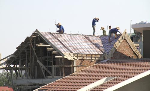 Kính sớ xin đổ mái nhà trần